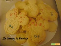 Biscotti Minnie e Topolino