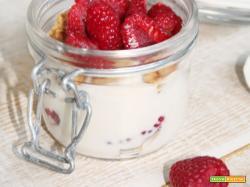 Bicchierino Goloso ai Lamponi: Senza Uova, Lattosio e Senza Zucchero