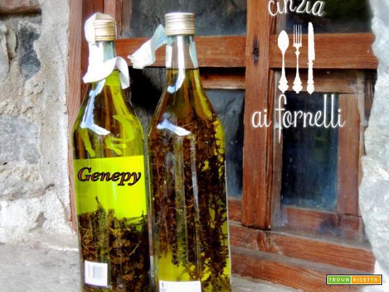 Genepy (liquore di artemisia glacialis)