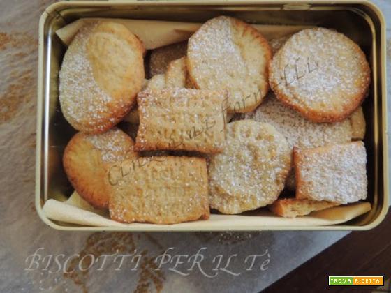 Biscotti per il tè