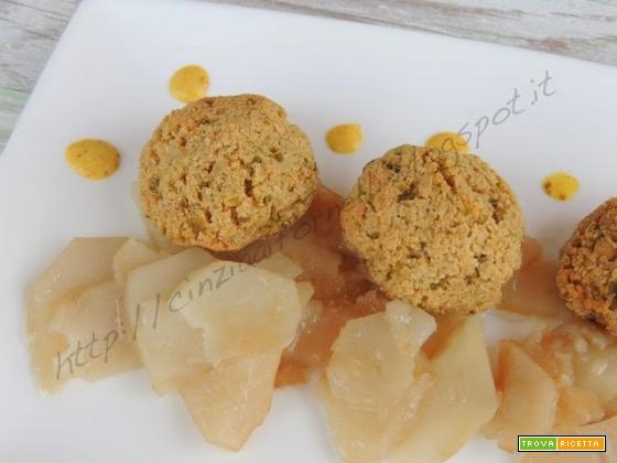 Polpettine di tofu con olive