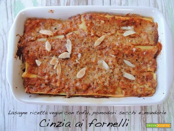 Lasagne vegan, ricetta facile e veloce