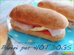 Pane per hot dog
