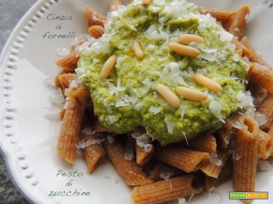 Pesto di zucchine veg