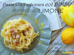 Spaghetti alla carbonara col Bimby