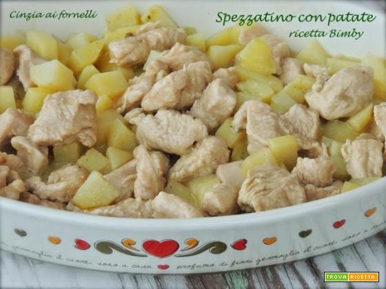 Spezzatino con patate, ricetta Bimby