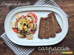 Carpaccio vegano e vegetariano