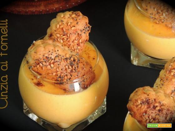 Vellutata di zucca e carote col Bimby
