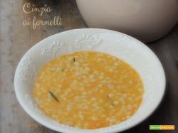 Zuppa d'orzo e zucca col Bimby