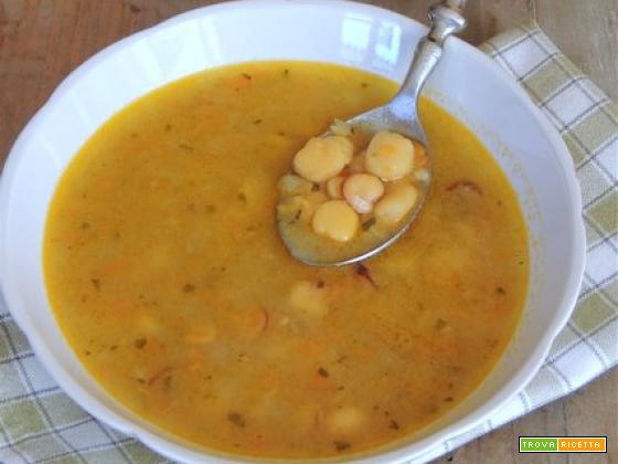 Zuppa di cicerchia col Bimby