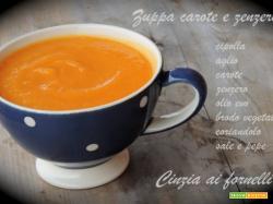 Zuppa di carote e zenzero Bimby