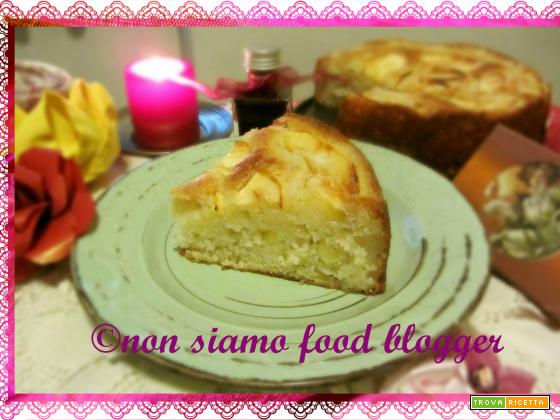 Torta di mele e yogurt light (senza uova, burro e latte)