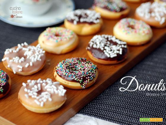 Donuts, ricetta facile e veloce