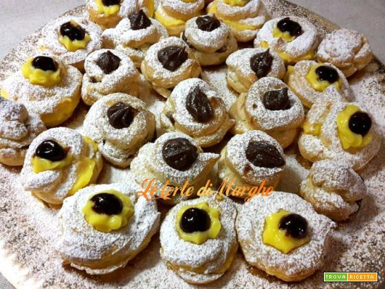 Zeppole dolci al forno