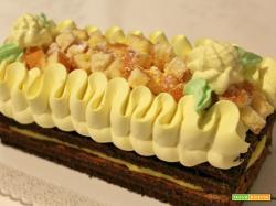 Mattonella mimosa alla crema pasticcera