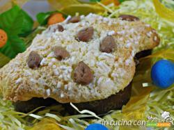 Colomba pistacchi cedro glassa al cocco