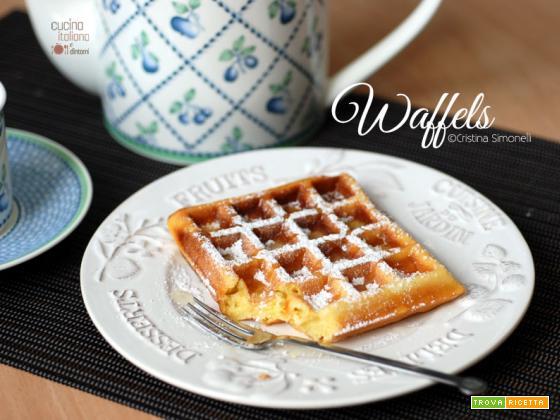 Waffel o Waffle, ricetta belga