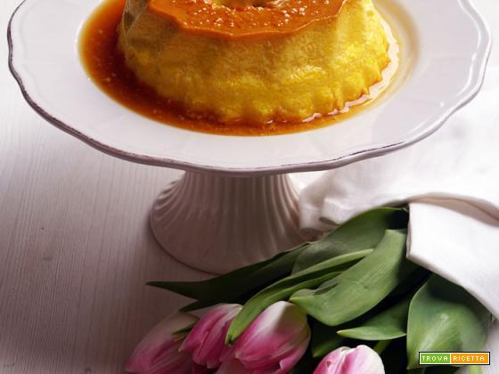 Crème caramel alla curcuma