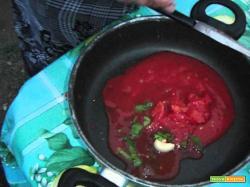 Aldocook 11 - Cagnoletto, gamberetti e patate a brodetto di pesce