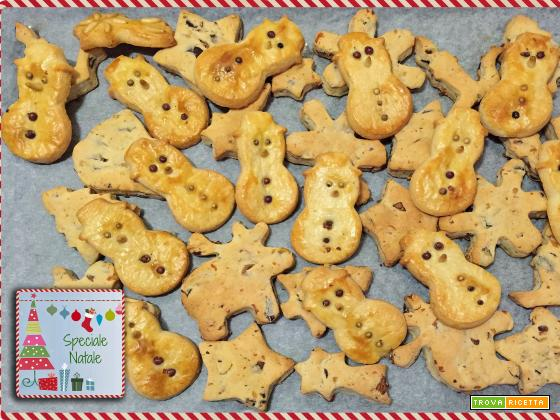 Biscotti salati natalizi