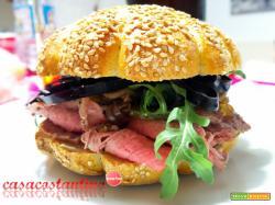 Panino con Roast Beef