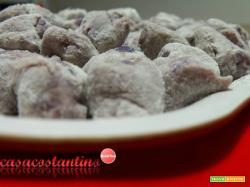 Gnocchi di patata viola