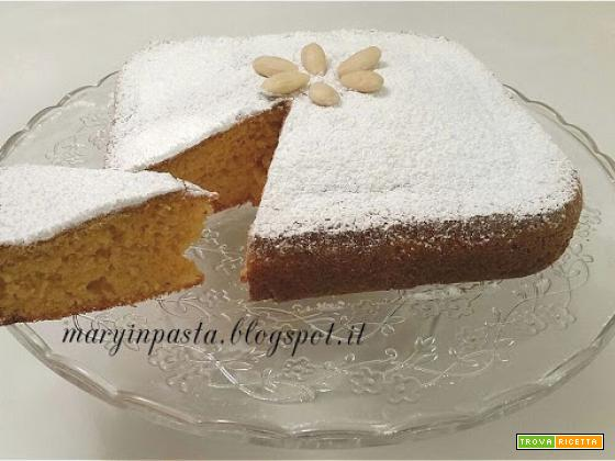 Torta di mandorle e carote ( ricetta di Simone Rugiati )