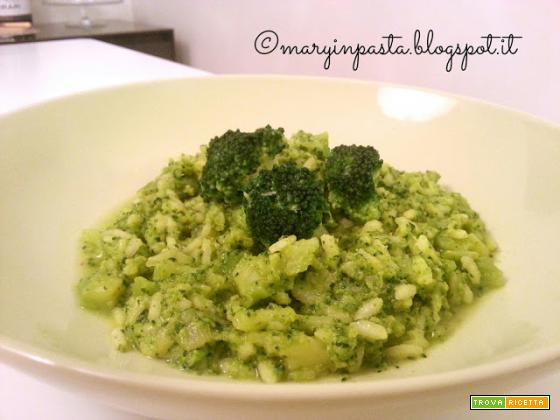 Risotto ai broccoli, zafferano e zenzero