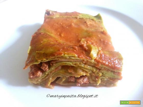 Lasagne verdi in versione light