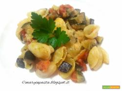 Orecchiette gratinate all'ortolana