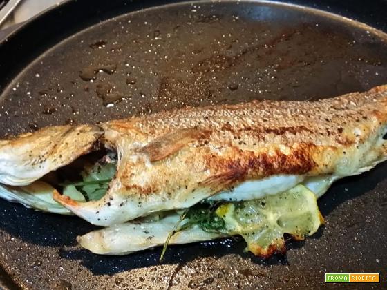 Pesce arrostito al Crisp