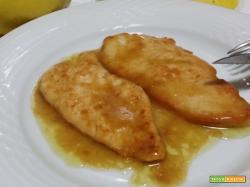 Petto di pollo in salsa al limone