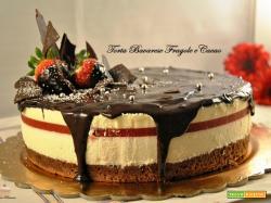 Torta Bavarese Fragole e Cacao