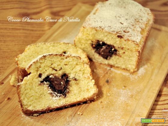 Cocco Plumcake Cuor di Nutella