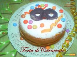 Torta di Carnevale semplice e simpatica