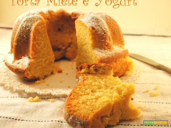 Torta Miele e Yogurt