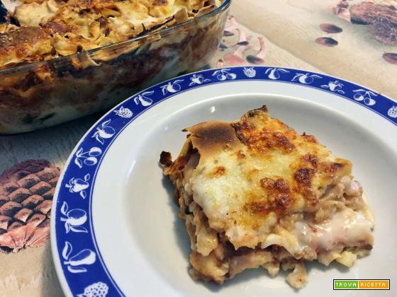 Lasagne al forno con pane carasau