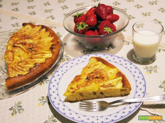 Torta di mele light (cottura a microonde)