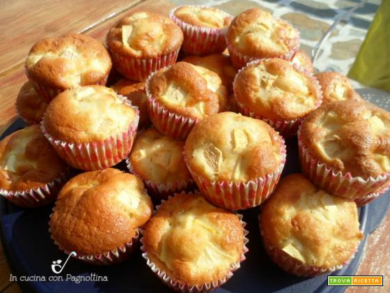 Muffin alle mele sofficissimi