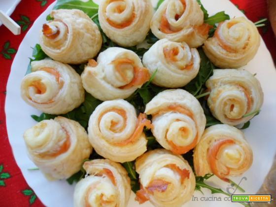 Rose di salmone