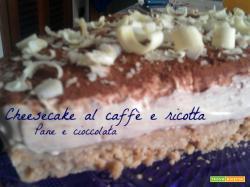 Cheesecake al caffè e ricotta