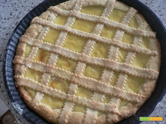 Crostata con crema pasticcera-Ricetta dolce | Noi due in cucina