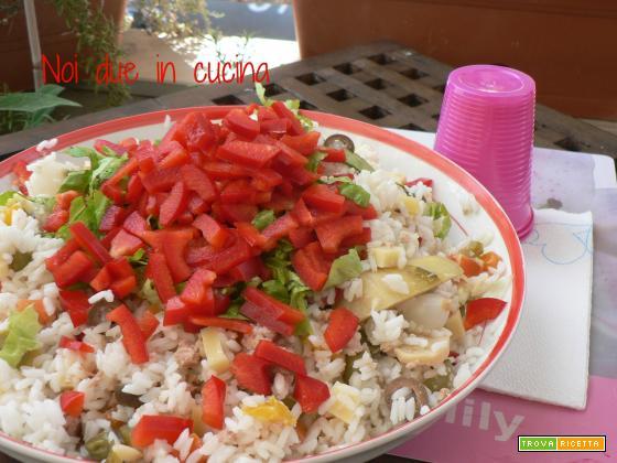 Insalata di riso-ricetta veloce