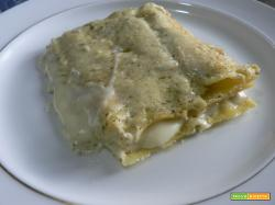 Lasagne pesto e besciamella | Noi due in cucina