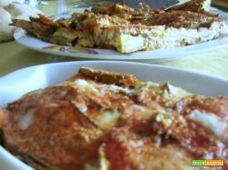 Parmigiana light con zucchine arrosto