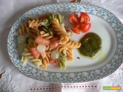 Pasta fredda-Fusilli tricolore   Noi due in cucina