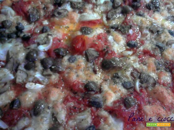 Pizza alla bagnarota
