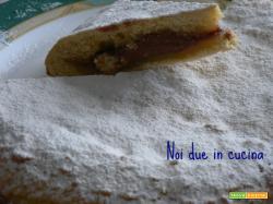 Torta con crema alla nutella