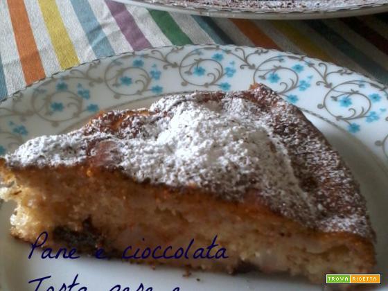 Torta pere e cioccolata
