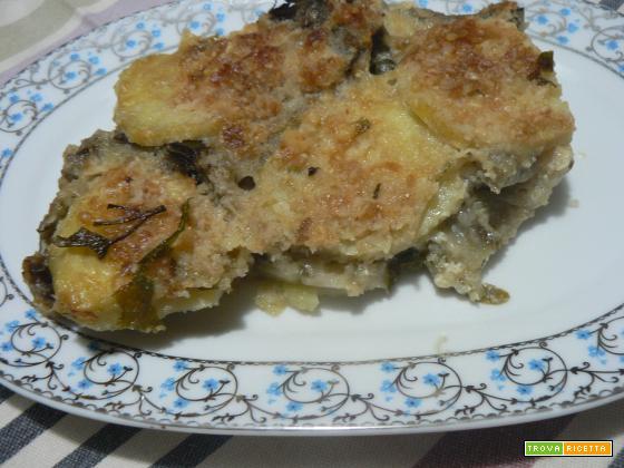 Tortino carciofi e patate | Noi due in cucina